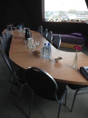 goedkope creatieve kleine vergaderruimte vergaderlocatie skylounge panoramic view